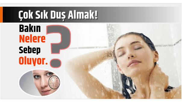 Photo of Çok Sık Duş Almak! Bakın Nelere sebep oluyor.