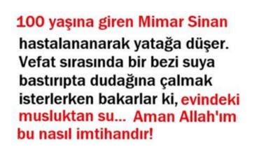 Photo of Mimar Sinan ve Su Hikayesi