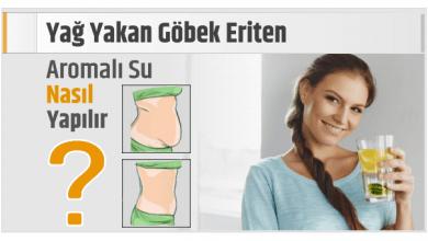 Photo of Yağ Yakan Göbek Eriten, Aromalı Su Nasıl Yapılır?