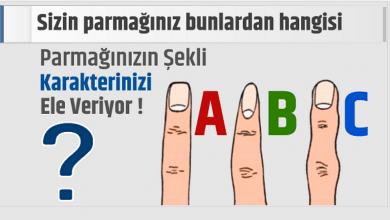 Photo of PARMAK ŞEKLİNİZ KARAKTERİNİZİ YANSITIYOR