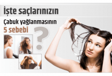 Photo of İşte saçlarınızın çabuk yağlanmasının 5 sebebi