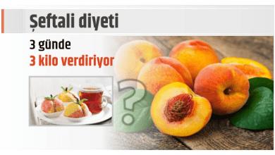 Photo of Şeftali diyeti 3 günde 3 kg verdiriyor