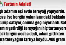 Photo of TARTININ ADALETİ..DEĞERİN KADAR DEĞER BULURSUN!