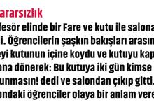 Photo of KARARSIZLIK DERSİ