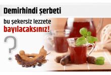 Photo of Demirhindi şerbeti bu şekersiz lezzete bayılacaksınız!
