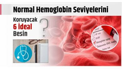 Photo of Normal Hemoglobin Seviyelerini Koruyacak  6 İdeal Besin