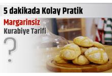 Photo of 5 dakikada Kolay Pratik Margarinsiz kurabiye tarifi