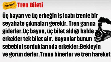 Photo of ERKEKLER VE TREN BİLETİ