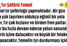 Photo of TEMEL TIR ŞÖFÖRÜ OLURSA!