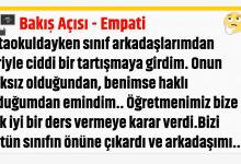 Photo of Bakış Açısı – Empati