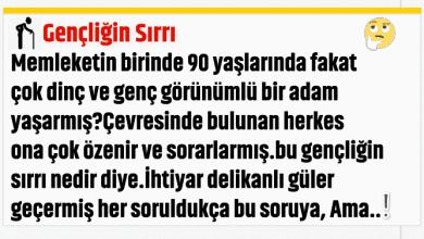 Photo of GENÇLİĞİN SIRRI