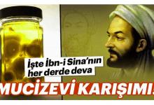 Photo of İbn-i Sina'nın Her Derde Deva Mucizevi Karışımı!