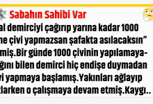 Photo of Sabahın Sahibi Var