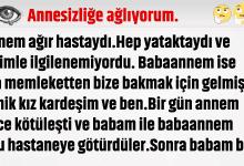 Photo of ANNESİZLİĞE AĞLIYORUM BEN