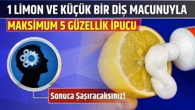 Photo of 1 Limon ve Küçük Bir Diş Macunuyla Maksimum 5 Güzellik İpucu