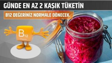 Photo of Günde En Az 2 Kaşık Tüketin B12 Değeriniz Normale Dönecek.