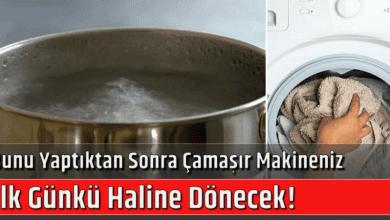 Photo of Bunu Yaptıktan Sonra Çamaşır Makineniz İlk Günkü Haline Dönecek!