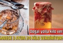 Photo of Sadece 3 Ayda 24 Kilo Verdiriyor!