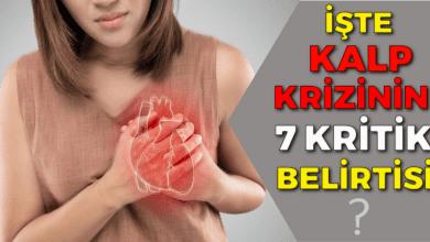 Photo of İşte Kalp krizinin 7 kritik belirtisi