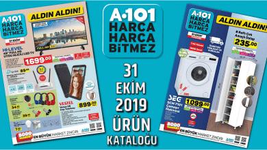 Photo of A-101 31 EKİM 2019 AKTÜEL ÜRÜN KATALOĞU